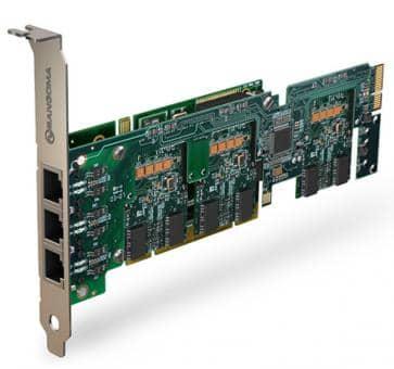 Sangoma A500BRMD Basiskarte 2 - 24 Port BRI PCI + HW EC
