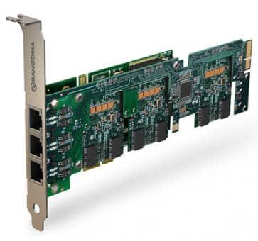 Sangoma A500BRME Basiskarte 2 - 24 Port BRI PCIe