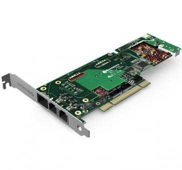Sangoma B710100D 2 Ports BRI + 2 Ports FXS PCI + HW EC