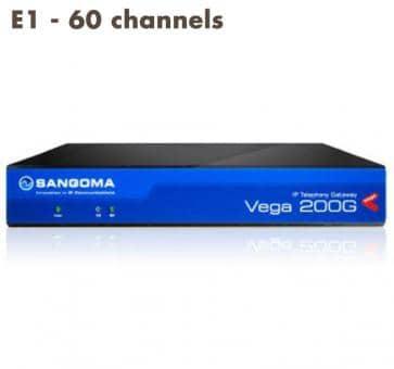Sangoma Vega 200 Gateway E1 - 60 Kanäle
