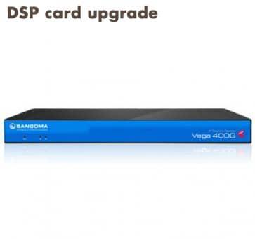 Sangoma Vega 400 Gateway DSP Karten Upgrade