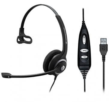 Sennheiser SC 30 Headset Skype for Business Mono USB  504546