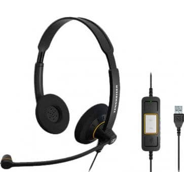 Sennheiser SC 60 Headset Duo USB 504549