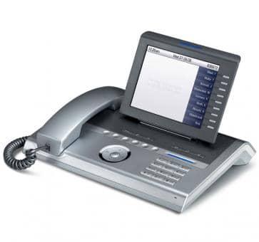 Siemens OpenStage 80 SIP-Telefone Gigabit Silber-Blau L30250-F600-C114