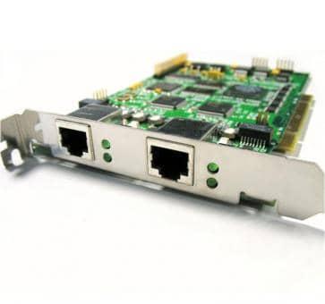Sirrix PCI2E1 zweifach E1 Karte mit HW DSP EC Modul