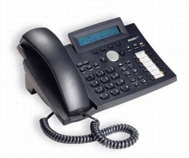 SNOM 320 V3 IP Telefon mit Hintergrundbeleuchtung