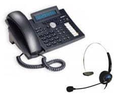 SNOM 320 PoE VoIP Telefon inkl. SNOM MM2 Headset