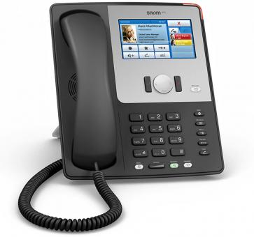 SNOM 870 Black VoIP Telefon der Premiumklasse