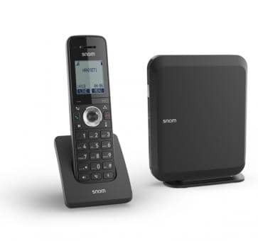 SNOM M215 SC IP DECT Single Cell Basisstation und Mobilteil