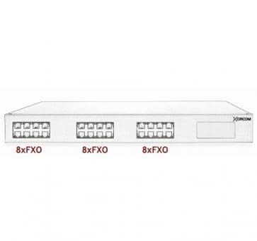 Xorcom Astribank - 24 FXO - XR0021