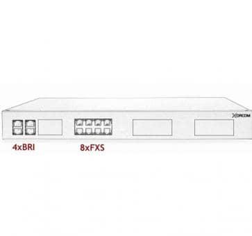 Xorcom Astribank - 4 BRI + 8 FXS - XR0029 - 1U
