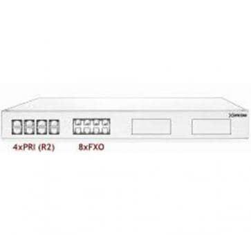 Xorcom Astribank - 4 PRI + 8 FXO - XR0081 - 1U