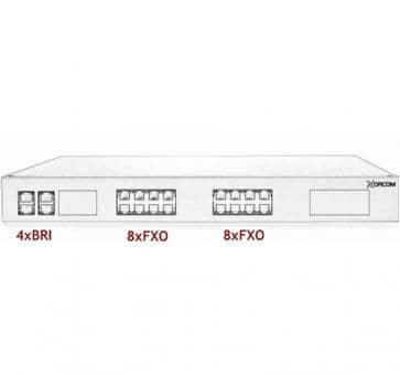 Xorcom Astribank - 4 BRI + 16 FXO - XR0094
