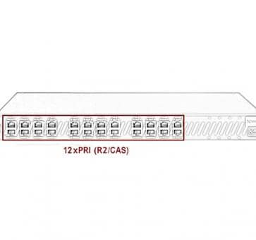 Xorcom Astribank - 12 PRI - XR0113 - 1U