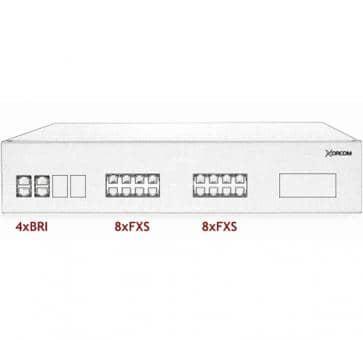 Xorcom IP PBX - 4 BRI + 16 FXS - XR2031