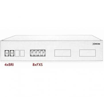 Xorcom IP PBX - 4 BRI + 8 FXS - XR3029