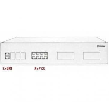 Xorcom IP PBX - 2 BRI + 8 FXS - XR3033