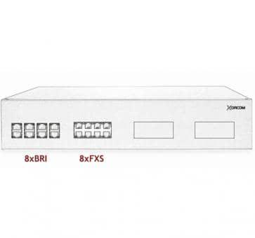 Xorcom IP PBX - 8 BRI + 8 FXS - XR3042