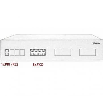 Xorcom IP PBX - 1 PRI + 8 FXO - XR3069