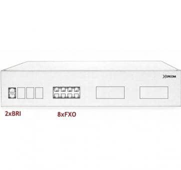 Xorcom IP PBX - 2 BRI + 8 FXO - XR3087