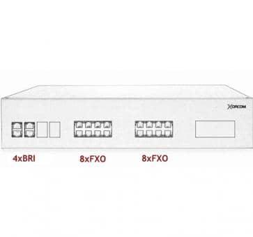 Xorcom IP PBX - 4 BRI + 16 FXO - XR3094