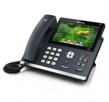 Yealink SIP-T48G IP Telefon Skype for Business (ohne Netzteil)