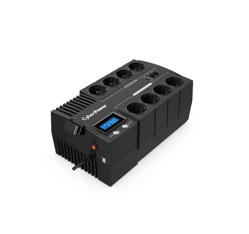 CyberPower BR1000ELCD VA1000 600 Watt Überspannungs- und Blitzschutz